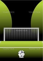 Soccer field background vector illustration