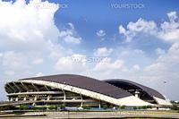 Image of a football stadium at Shah Alam, Selangor, Malaysia.