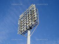 Column lights outdoor stadium
