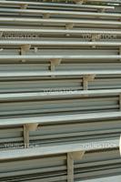 Football field bleacher seating