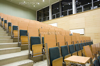 lecture hall in Adam Mickiewicz University in Poznan