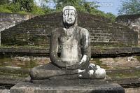 Ancient Buddha statue in Polonnaruwa, Sri Lanka