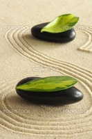 spa still life with zen like stones