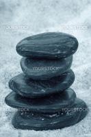 Zen stones,  shallow DOF photo