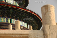 Soft focus detail of Temple of Heaven, Beijing, China