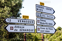 signposts, Provence, France