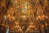 Opera Garnier in France Paris Tourist Destination