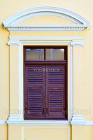 Historic old style vintage window