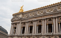 Opera building in Paris France