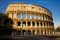 photo of the roman colosseum taken by day light