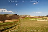 Photo of the umbria country near Colfiorito