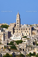 The beautiful town of Matera in Italy