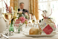 Reception dinner. Wedding.