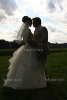 groom bride silhouette sky wedding symbol tradition