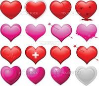 Valentine's day decorative design and background