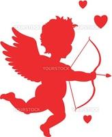 valentine's day cupid illustration