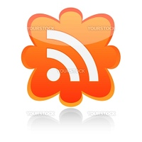 RSS vector button.