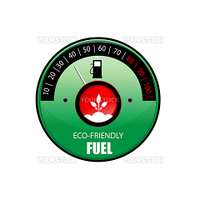 illustration of vector icon for ecological fuel against white background