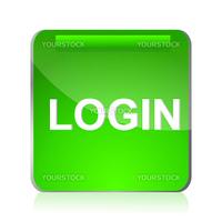 illustration of login icon on white background