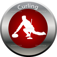 winter game button curling