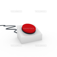 3d button red on off start stop push