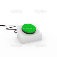 3d button green on off start stop push