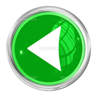 A Web Button Left Side on white Background