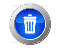 Recycle bin button