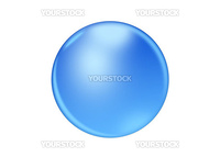 blue icon isolated on a white background