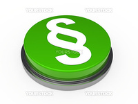 green chrome button with white paragraph symbol