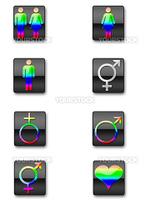 a collection of gender symbols
