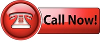 Telephone, call now icon, button, red glossy.
