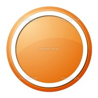 round button with white ring for web design and pressentation