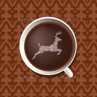 hot chocolate with stag fantasy