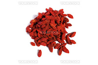 A small pile of healthy Goji Berries, known for antioxidants