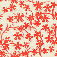 seamless floral background pattern.