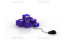 packages with mouse