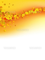 Autumnal concept background. EPS 10 vector file included