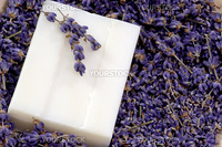 Close up from lavender Soap as Background