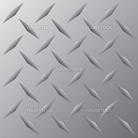 A silver metallic diamond plate texture that tiles seamlessly in any direction.
