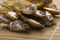 Small dry fish used in Asian cuisine.