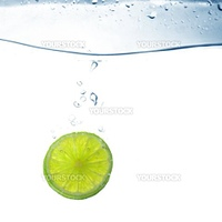 lime water splash freshness drink concept