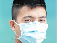 man with facemask