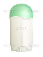 photo of deodorant over the white background