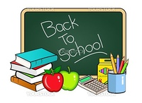 illustration of Back to school concept
