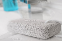 Pumice stone for foot care