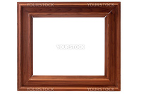 Frame for a picture or a photo on a white background.