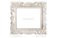 White Picture Frame, isolated on white