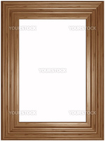 Old wooden classical Picture Frame