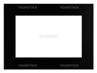 Photo frame isolated in white